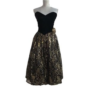 GUNNE SAX Jessica McClintock vintage prom dress
